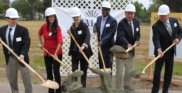<span>Affordable Housing Coming to College Area</span><br>SDHC and development partners break ground for a new 77-unit apartment complex that will be affordable for very low- and extremely low-income families for 55 years. Watch Video. 04.04.13