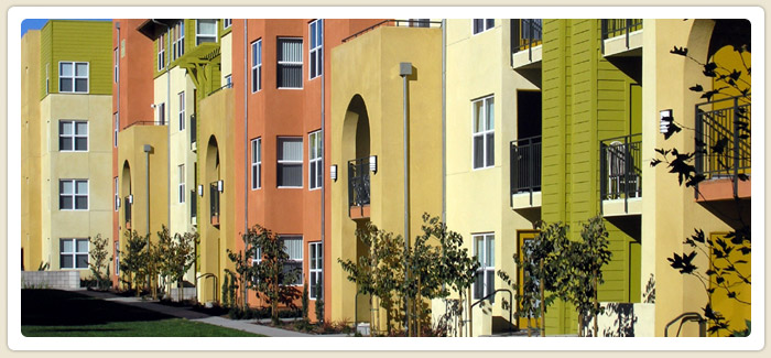 <span>Metro Villas</span><br>Targeted for large families, this apartment complex in City Heights has 188 affordable housing units. (City Council District 3)
