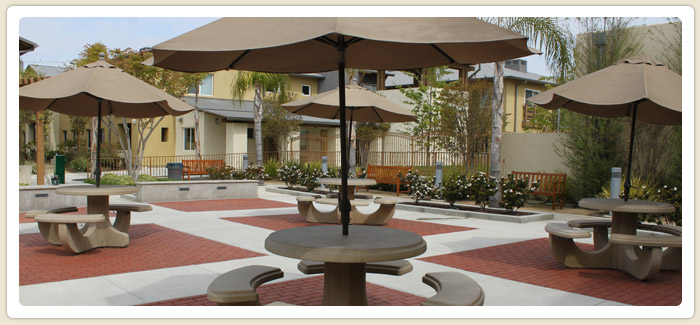 <span>Veterans Village</span><br>Veterans Village of San Diego is a transitional housing facility for homeless veterans.  The San Diego  Housing Commission provided funding for this project.